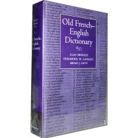 Cambridge French - Old French - English Dictionary (Hardcover)