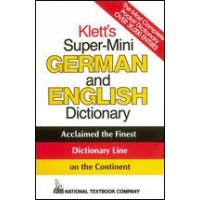 Klett's Super-Mini German and English Dictionary (Paperback)