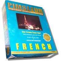 Pimsleur Instant Conversation - French (Audio Cassette)