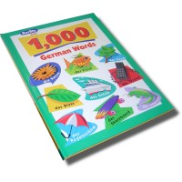 Berlitz 1000 German Words (Hardcover)