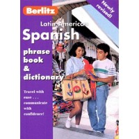 Berlitz Latin American Spanish Phrase Book and Dictionary (Paperback)