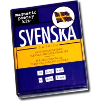 Magnetic Poetry kit - Svenska (Swedish)