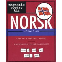 Magnetic Poetry Kit - Norsk (Norwegian)