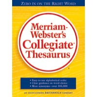 Merriam-Webster's - Collegiate Thesaurus