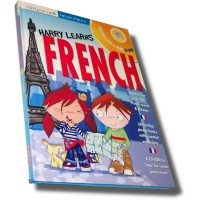 Barrons - Harry Learns French (Book and CD-ROM)