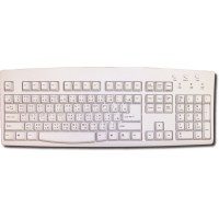 Keyboard for Chinese - Chinese and English Bilingual Keyboard ACK-260A (PS2) Ivory