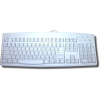 Keyboard for Arabic ACK-260A PS2 - Ivory