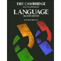 The Cambridge Encyclopedia of Language 2nd Edition - D. Crystal