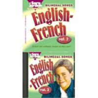 French - Bilingual Songs - English/French - Vol. 2 (Audio Tape & Book)