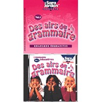 French - Des airs de grammaire (Audio Cassette & Book)