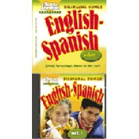 Spanish - Bilingual Songs - English/Spanish - Vol.2 (Audio CD & Book)
