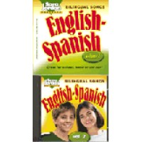 Spanish - Bilingual Songs - English/Spanish - Vol.1 (AudioCD & Book)