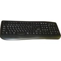 Keyboard for Korean and English (USB Port) - Black - Turbo-Fly