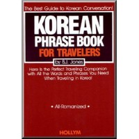 Korean Phrase Book for Travelers (All Romanized)