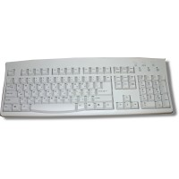 Keyboard for Hebrew ACK-260A - Ivory PS2 Wired