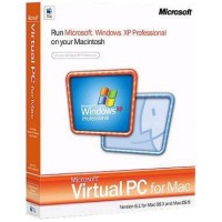 Virtual PC for Mac 6.1 with Windows XP Professional