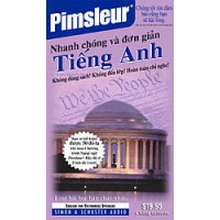 Pimsleur ESL Quick and Simple Vietnamese Speakers Basic Cassette