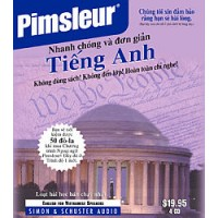 Pimsleur ESL Quick and Simple Vietnamese Speakers Basic on CD