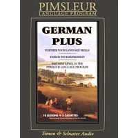 Pimsleur German Plus (Audio CD)