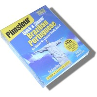 Pimsleur Quick & Simple Brazilian Portuguese (8 lessons / Audio CD)