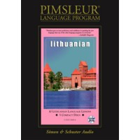 Pimsleur Lithuanian Compact (10 lesson) Audio CD