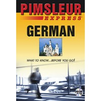 Pimsleur - Express German (Audio CD)