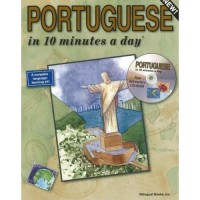 Bilingual Books - PORTUGUESE in 10 minutes a day ® with CD-ROM