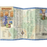 Bilingual Books - Spanish a Language Map™ in SPANISH