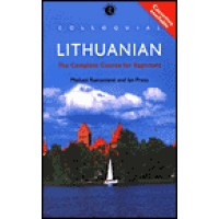 Colloquial Lithuanian - Complete Course for Beginners (Book, CD's & Cassettes)