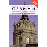 Colloquial German - Complete Language Course (cassette/book)