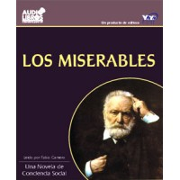 Los Miserables - Victor Hugo Audio Libros on 3 CDs