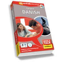 Talk Now Learn Danish Intermediate Level 2 (World Talk)