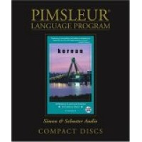 Pimsleur Korean Comprehensive CD