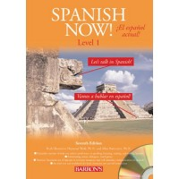 Barrons - Spanish Now! Level 1 with 4 Audio CDS 7th Edit.