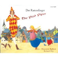 Pied Piper Children's Book in German/English