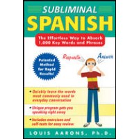 Subliminal Spanish (w/ Audio CDs)