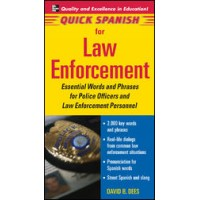 Quick Spanish for Law Enforcement (Book only)