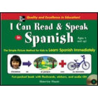 I Can Read and Speak in Spanish (Book, flashcard, stickers, and CD)