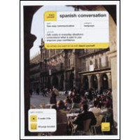 NTC - Teach Yourself Spanish Conversation (Book & Audio CDs)