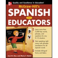 McGraw-Hill's Spanish for Educators (Book)