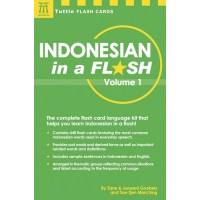 Indonesian in a Flash Volume 1