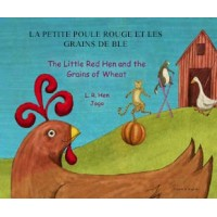 Little Red Hen in Romanian & English (PB)