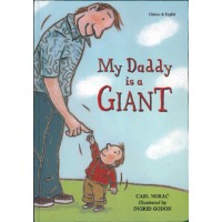 My Daddy is a Giant in Croatian & English (HB)