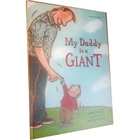 My Daddy is a Giant in Turkish & English (HB)