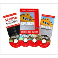 Living Language - Spanish Beyond the Basic (Book & Audio CDs)