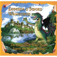Legend of the Wawel Dragon (Book) in English, German and Polish