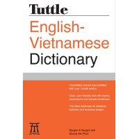 Tuttle English-Vietnamese Dictionary (Vietnamese <-> English) (PB)
