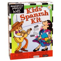 Kids' Spanish Kit-Magnetic Poetry Kids (English and Spanish Edition)