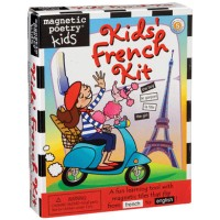 Magnetic Poetry Kids' Magnetic French Kit