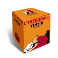 Tintin DVD Boxsets 1 & 2 (set of all 20 titles) - in French
